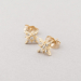 pair of shining star studs.