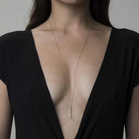 body chain necklace